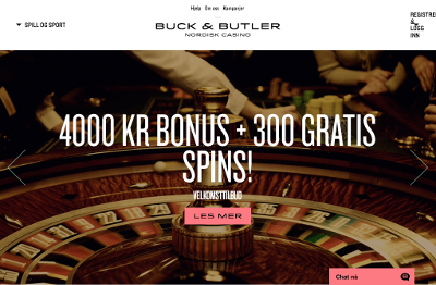 Buck and Butler Casino skjermbilde