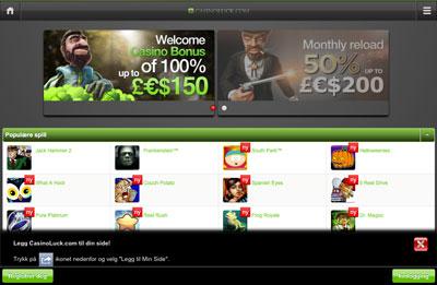 Casino Luck skjermbilde