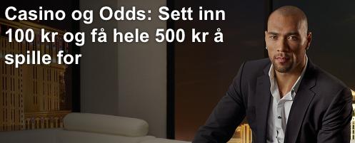 ComeOn tilbyr odds og tipping