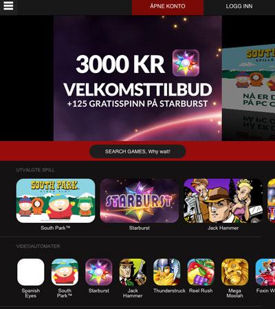 Guts iPad Casino skjermbilde