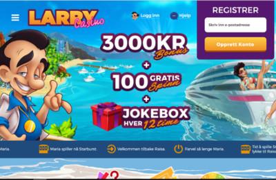 Larry Casino skjermbilde