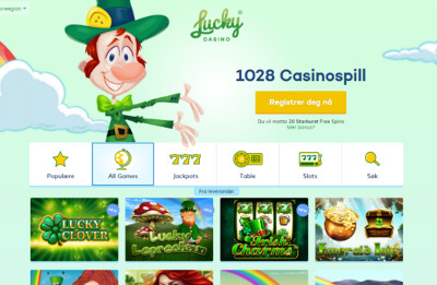 Luckycasino skjermbilde