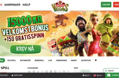 Mucho Vegas skjermbilde