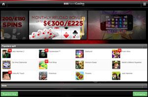 Next Casino skjermbilde