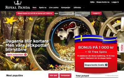 Royal Panda skjermbilde