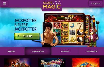 Slots Magic Kasino skjermbilde