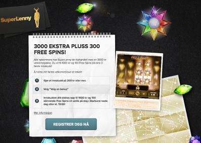Superlenny Casino skjermbilde